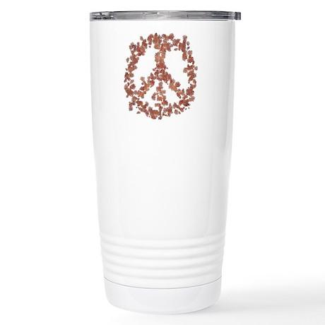 Beloved Flower Peace Stainless Steel Travel Mug