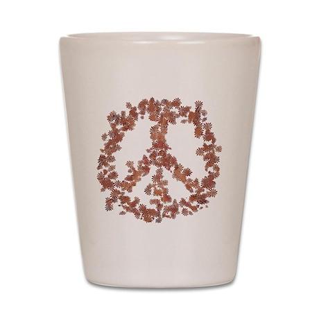 Beloved Flower Peace Shot Glass