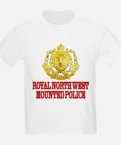 North West Mounted Police Kids T-Shirt