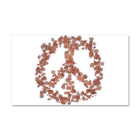 Beloved Flower Peace Car Magnet 20 x 12