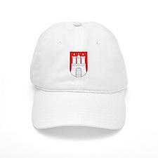 Hamburg Wappen Baseball Cap