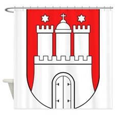 Hamburg Wappen Shower Curtain
