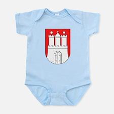 Hamburg Wappen Infant Bodysuit