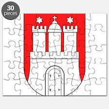 Hamburg Wappen Puzzle
