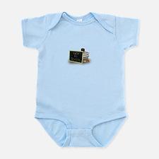 Back to school apple Infant Bodysuit