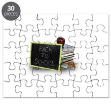 Back to school apple Puzzle