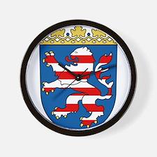 Hessen Wappen Wall Clock