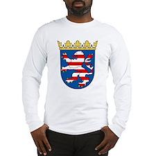Hessen Wappen Long Sleeve T-Shirt
