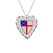 Episcopal Shield Necklace