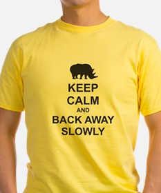 Keep Calm and Back Away Slowly T