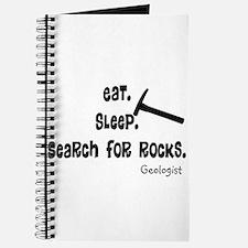 Geologist Eat Sleep Rocks.PNG Journal