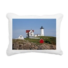 Nubble Light Rectangular Canvas Pillow