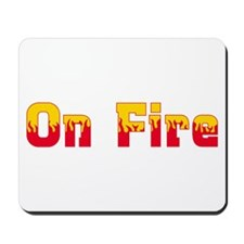 On Fire Mousepad