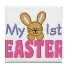 My 1st Easter Tile Coaster