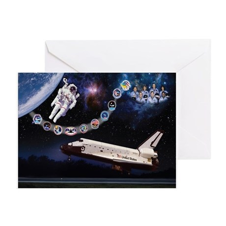OV-099 Challenger Greeting Cards (Pk of 10)
