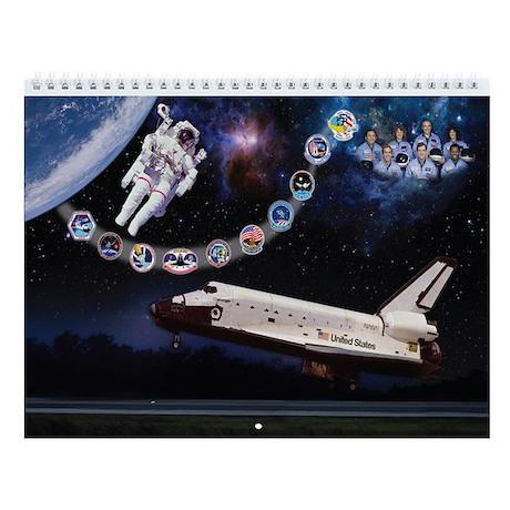 OV-099 Challenger Wall Calendar