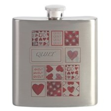 Love to Quilt Flask