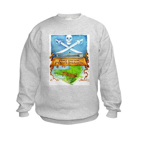 Fort Taylor Pyrate Invasion Kids Sweatshirt