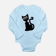 Scat Cat Long Sleeve Infant Bodysuit