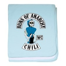 Runs of Anarchy baby blanket