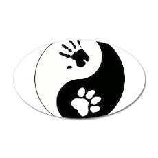 Big Cat Therian Ying Yang Wall Decal