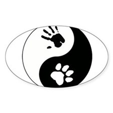 Big Cat Therian Ying Yang Decal