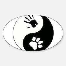 Big Cat Therian Ying Yang Decal