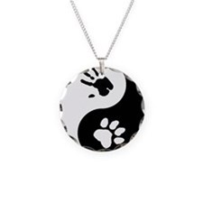 Big Cat Therian Ying Yang Necklace