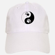 Big Cat Therian Ying Yang Baseball Baseball Cap