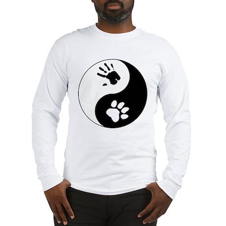 Big Cat Therian Ying Yang Long Sleeve T-Shirt