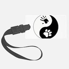 Big Cat Therian Ying Yang Luggage Tag