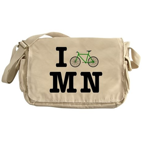 I Bike MN Messenger Bag