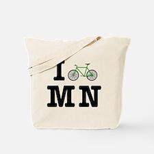 I Bike MN Tote Bag
