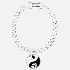 Wolf Therian Ying Yang Bracelet