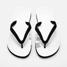 keep calm and sleep in Flip Flops