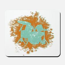 Splatter Drumset Mousepad