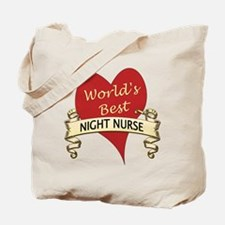 Cool Night nurse Tote Bag