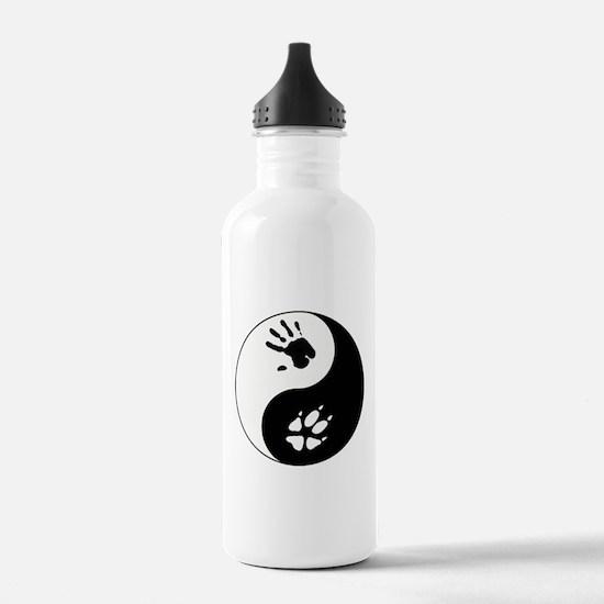 Fox Therian Ying Yang Water Bottle