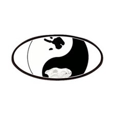 Dire Wolf Therian Ying Yang Patches