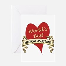 Cute Medical assistant Greeting Card