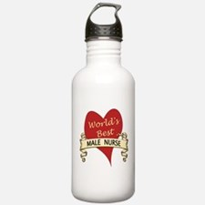 Funny Best nurse Water Bottle