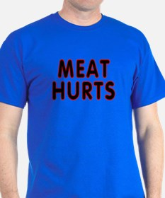 Meat hurts - T-Shirt