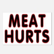 Meat hurts - Postcards (Package of 8)