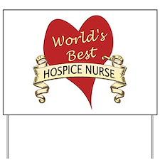 Funny Cancer nursing Yard Sign