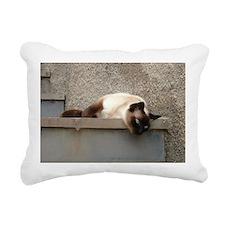 Cute B w Rectangular Canvas Pillow