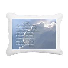"""""""High Flight"""" Rectangular Canvas Pillow"""