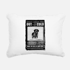 DDB Winter Rectangular Canvas Pillow