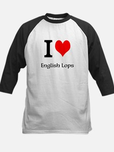 I love English Lops Tee