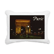 Cute Arch de triumph Rectangular Canvas Pillow