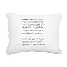 Scrapbook Rectangular Canvas Pillow
